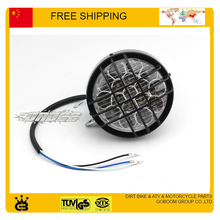 free shipping LED head light ATV headlights lamp of 49cc 50cc 110cc 150cc 250cc sport quad buggy go cart light 12V