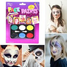 children body paint face make up Painting Pigment face painting eosplay Halloween party make up essential A3(China)