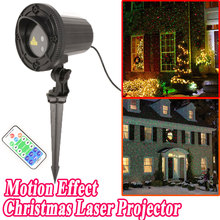 New Year Christmas Star Lights Laser Showers Projector Outdoor Decoration For Home Red Green Laser Move Twinkle Waterproof IP44(China)