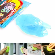 Car Cleaning Products Magic Cyber Super Clean Glue New Outlet Cleaning Car Washer Supplies Foam Lance Microfiber Sponge Gel 1pcs