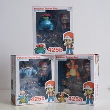 NEW hot 20th Pikachu Ash Ketchum Charmander collectors action figure toys Christmas gift doll