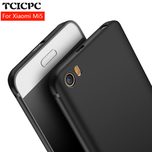 TCICPC case for Xiaomi Mi5 Xiaomi MI 5 M5 Mi5S Ultra thin scrab silicone tpu case cover for Xiaomi mi 5 case Xiaomi mi5 case(China)