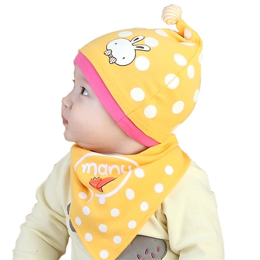 Baby Beanie For Boys Girls Cat Cotton Kids Hat Children Print Hats For Winter Autumn Drop Shipping #Z30(China)