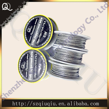 Most Popular 316L Juggeranut wire AND Juggeranut  A1 wire for electronic cigarette coils 5M/ROLL