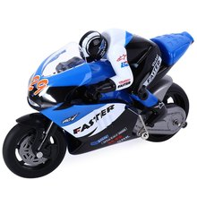 329 Big Discount JXD 806 1/16 Scale 2.4G Remote Radio Control Motorcycle with Inertia Wheel Device and Realistic Shock Absorber