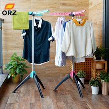 ORZ Magic Clothes Drying Rack Multifunctional Clothing Hanger Organizer Coat Stand Rack Laundry Drying Hangers(China)