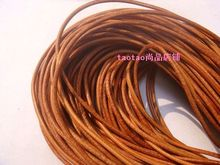 Cowhide rope genuine leather rope 2mm round 10 meters(China)