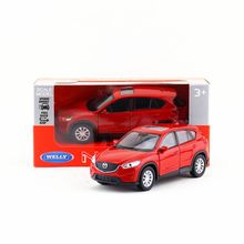 Welly DieCast Model/No Scale/Mazda CX-5 SUV toy/Pull Back Educational Collection/for children's gift or collection