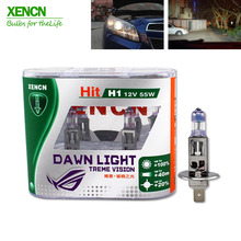 XENCN NEW  H1 12V 55W 3800K Second Generation Dawn Light Replace Upgrade Car Headlights Super Bright Lamps for chevrolet lacetti