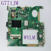 Buy G771JM Motherboard ASUS G771 G771JM Laptop mainboard i5-4500 HM86 GTX860M 4GB Fully tested free for $277.99 in AliExpress store