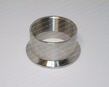 "Adapter for heater DN40 (1 1/2"") , tri-clamp 2""(OD64).  Stainless steel  SS304"