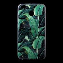 Phone Cover for Xiaomi Redmi 4X Capa 5.0 inch Ultra Thin Patterned Printing TPU Mobile Casing for Xiaomi Redmi 4X - Banana Leaf