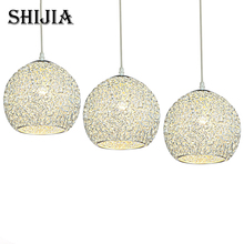 Modern Crystal Ball LED Pendant Lights for Living room Home Lighting Balcony Bedroom Study Bar Hotel Restaurant Pendant Lamp(China)