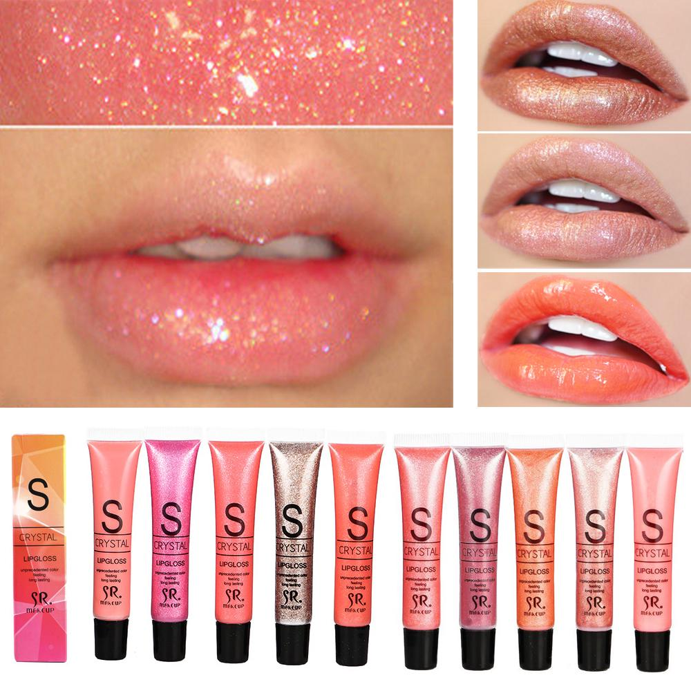 Manooby 1pc Waterproof Liquid Lipstick Cosmetics Long Lasting Moisturizer Shimming Glitter Lip Gloss Makeup Sexy Lips 12 Colors(China)