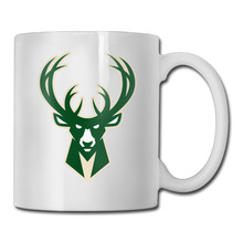 Milwaukee Basketball Logo coffee mug artistic teacher tazas ceramic tumbler caneca tea Cups