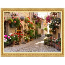 Flower Garden Road Diamond Mosaic Painting Full Embroidery 5D Diy Cross Stitch Square Set Home - SophieBeauty Franchisee Store store