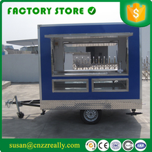 crepe food cart cheap mobile fast food truck(China)