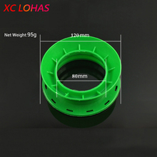 High Strength Circular ABS Plastic Fishing Line Coiling Plate Fishing Winding Line Board 4 Size Random Color Fishing Accessories