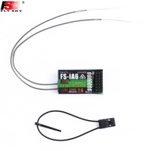 1pcs Original FlySky FS-iA6 6 Channel Receiver AFHDS 2A 2.4G Radio system Replacement For FlySky FS-I10 Free shipping(China)