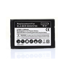 Free Shipping Hot Sale Generic Replacement 1800mah Battery For Blackberry bold 9000 9700 9780