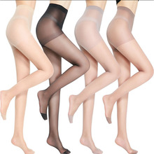 Buy 2018 Super Elastic Magical Stockings Sexy Women Tights Skinny Legs Pantyhose Prevent Hook Silk Summer Thin Stocking Sun-Proof
