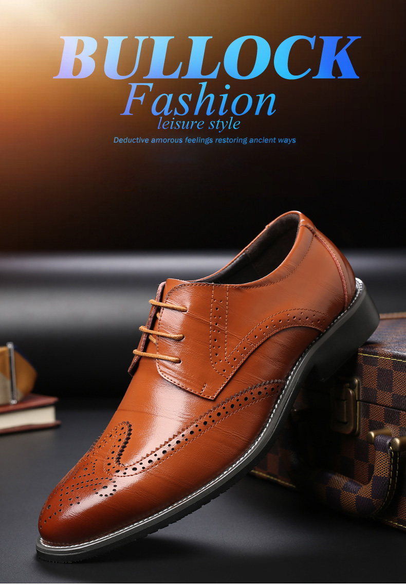 Genuine Leather Classy Business Shoe