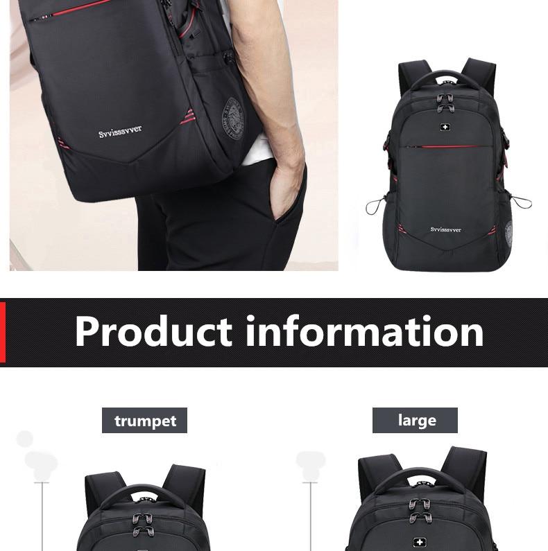 Kvaliteetne must veekindel seljakott