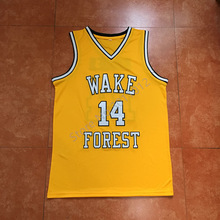#14 Tyrone Bogue Wake Forest Demon Deacons college basketball jersey all size Embroidery Stitched Custom any Number and name(China)