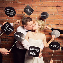 Wedding Props Booth DIY Decorative MINI Blackboard Creative Photo Props Booth Christmas Gift Favors HOT SD818