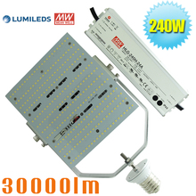 ETL Approved 200 watt LED Flood Lighting Parking Lot Shoe box Retrofit E40 E39 mogul base 5 years warranty 347volt 480volt Input(China)