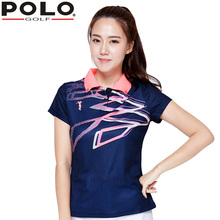 Brand POLO New Golf Apparel Jersey Lady Polo Shirt Quality Short S-XL Female Tennis Summer TShirt Jacket Sportswear Clothes 2017(China)