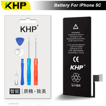 NEW 2017 100% Original KHP Phone Battery For iPhone 5C Battery 1510mAh Repair Tool 0 Cycle Replacement Mobile Batteries Sticker(China)