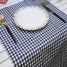 100pcs Cotton Cloth Napkins Plaid placemat cm Home Restaurant Cafe Table Napkin Wedding Table Kitchen Tea Towels ZA1323