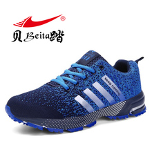 Beita Sneakers shoes Running shoes Size 35- 46 2017 Lovers Outdoor men Sneakers Sports Shoes Breathable Trainers Jogging Walking