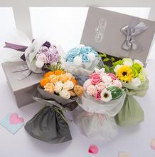 Popular  & Elegant  Soap Rose Flowers Bouquet For Mother's Day / Valentine's Day / Birthday Gift /Teacher's Day For Girls