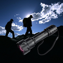 New UniqueFire UF-T20 IR850/940 Flashlight 38mm Lens Zoomable Adjustable Foucs Infrared Light Night Vision for Night Hunting