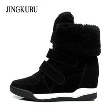 Buy Women Snow Boots 2017 Fashion Shoes Faux Leather Womens Ankle Boots Shoes Warm Womens Bowknot adornment Botas Winter Shoes woman for $37.81 in AliExpress store