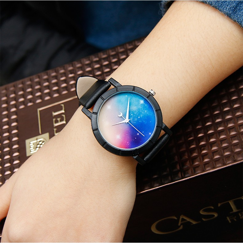 Romantic Starry Sky Fashion Watch For Her