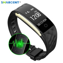 S2 Bluetooth Smart Band Wristband Heart Rate Monitor IP67 Waterproof Smartband Bracelet for Android IOS Phone Pk Fitbits ID115