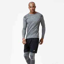 Men Knitted Running Jogging Training Suits Sport Clothing Basketball Jerseys Long Sleeve Gym Fitness Tights Track Suit 3 Pieces(China)