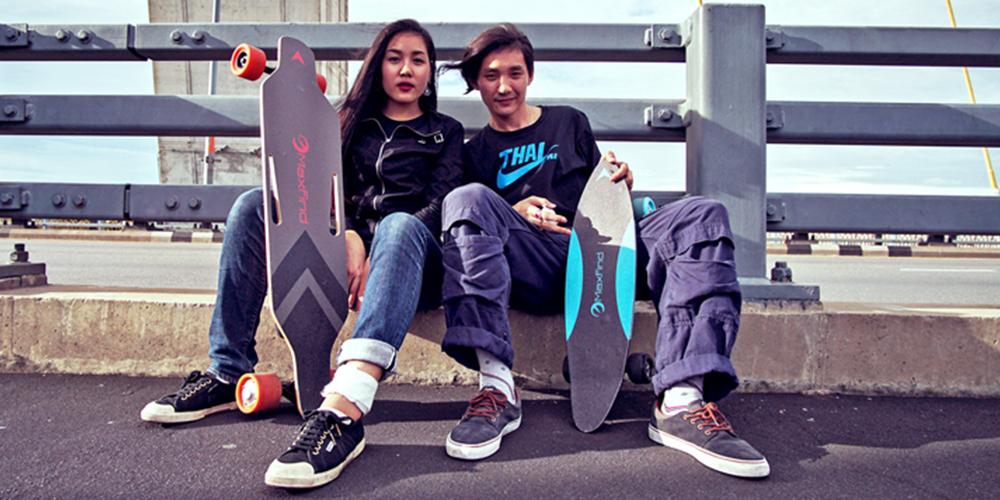 electric skateboard show