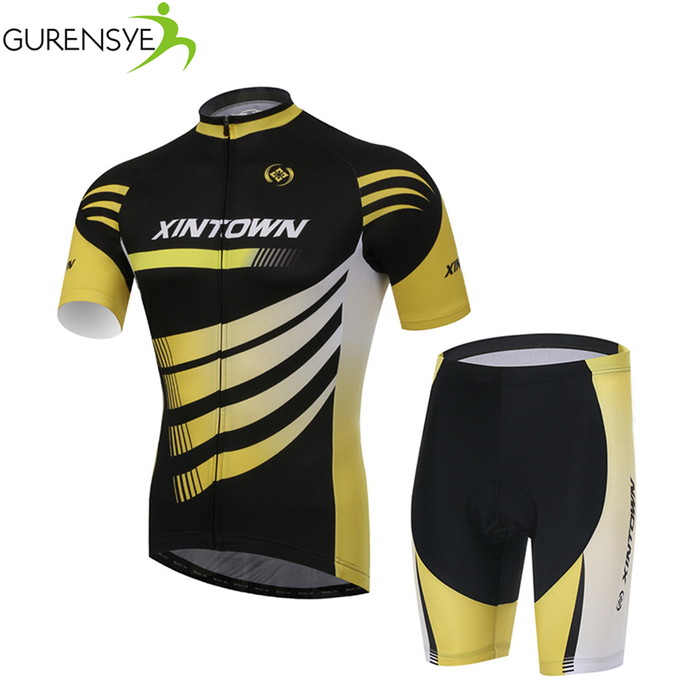 Cycling Jersey Short Sleeve Road bike Clothing Men Cycling wear ropa ciclismo Cycling Sets Breathable Mountain Bicycle GEL Pad<br><br>Aliexpress