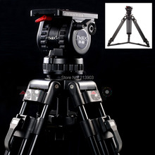 "Generic 66"" V8 Pro Video Studio Photo Heavy Carbon Tripod And Head Kit With Soft Bag For Camera Movie Support"