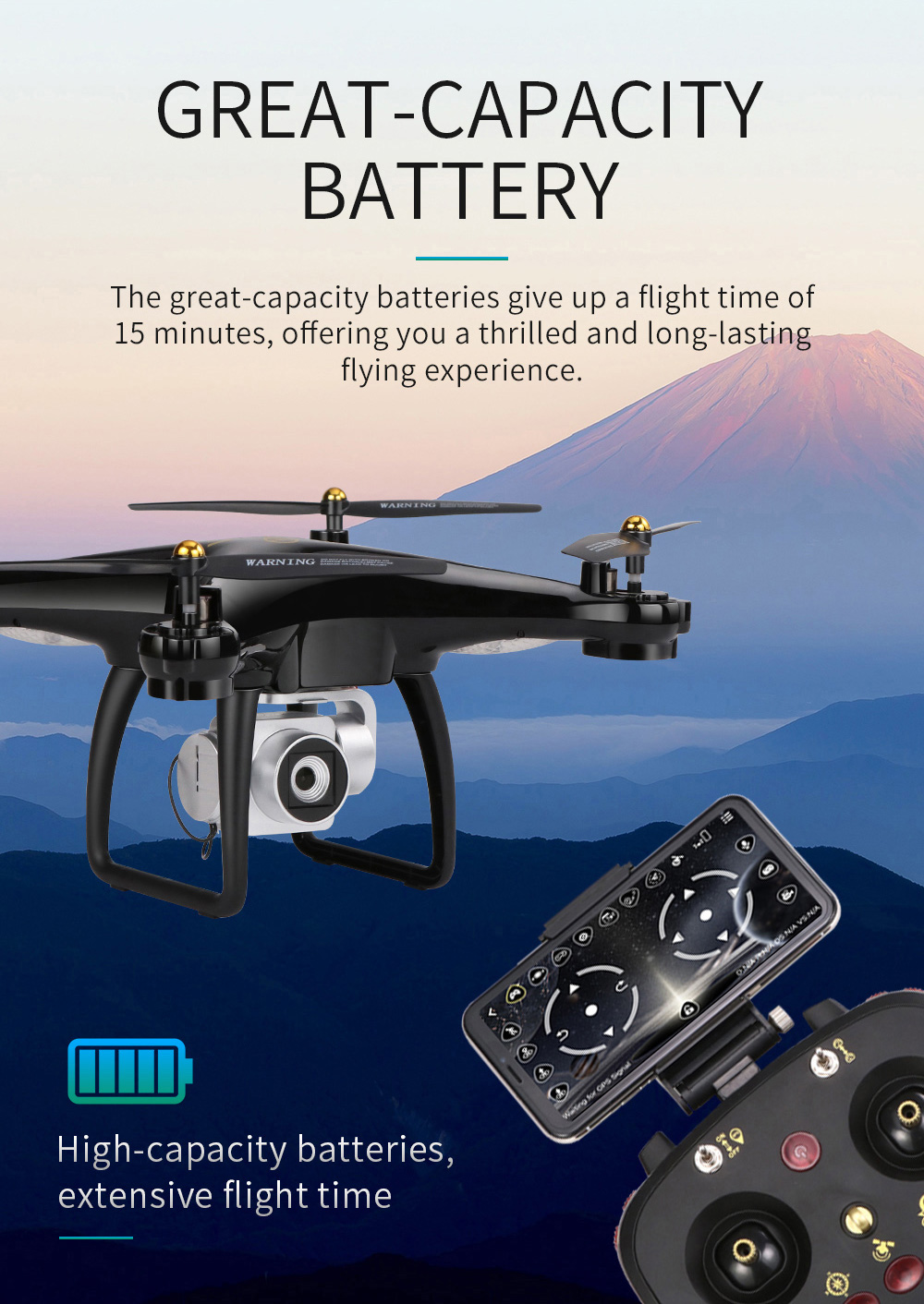 JJRC H68G GPS Drone With Camera 1080P HD 5G Wifi FPV Quadrocopter RC Helicopter Professional Dron Compass Auto Follow Quadcopter 14