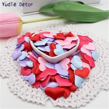 100pcs/lot artificial  Small cloth Love for DIY wedding car  Marriage room party Various Feasts art decoration scrapbooking