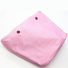1 pcs pink canvas inner lining for classic o bag handbag women bag(China)