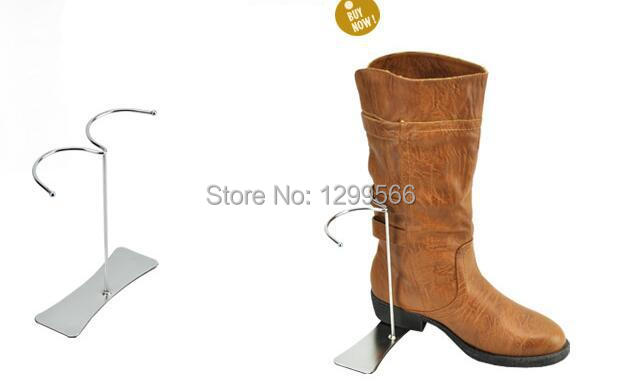 10pcs free shipping hot sale fashion boots display stand matel high boots snow boots purse shoe display stand holder rack