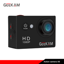 Original GEEKAM A9 action camera 1080P/15fps 720P HD outdoor sports pro waterproof go Mini camaras deportivas bike video camera