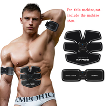 Unisex Abdominal Muscle Trainer Sticker EMS Body Massage Stimulator Tummy Tuck Pad Training Sports Exercise Fitness Loss Weight(China)