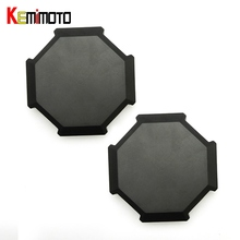 KEMiMOTO 2pcs for Polaris RZR 1000 RZR 900 S 1000 XP Turbo 2014 2015 2016 2017 BID Tire Rim Wheel Hub Center Cap Cover(China)